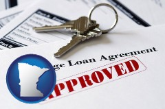 Minnesota - an approved mortgage loan agreement