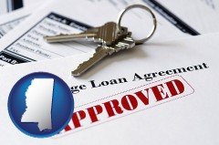 Mississippi - an approved mortgage loan agreement