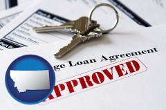 Montana - an approved mortgage loan agreement