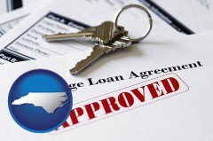 North Carolina - an approved mortgage loan agreement