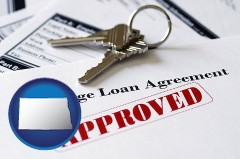 North Dakota - an approved mortgage loan agreement