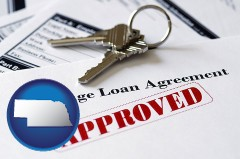 Nebraska - an approved mortgage loan agreement