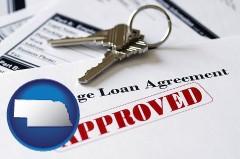 Nebraska mortgage loan agreement approved