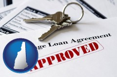 New Hampshire - an approved mortgage loan agreement