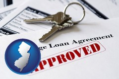 New Jersey - an approved mortgage loan agreement