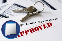 New Mexico - an approved mortgage loan agreement
