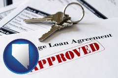Nevada - an approved mortgage loan agreement