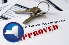 New York mortgage loan agreement approved