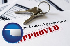 Oklahoma - an approved mortgage loan agreement