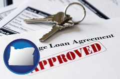 Oregon - an approved mortgage loan agreement