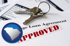 South Carolina - an approved mortgage loan agreement