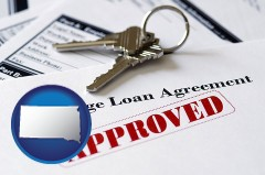 South Dakota - an approved mortgage loan agreement
