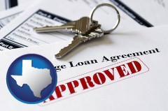 Texas mortgage loan agreement approved
