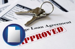 Utah - an approved mortgage loan agreement