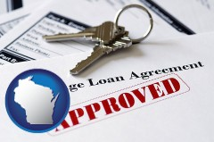 Wisconsin - an approved mortgage loan agreement