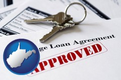 West Virginia - an approved mortgage loan agreement