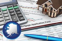 Alaska - a mortgage application form