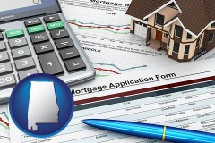 Alabama - a mortgage application form