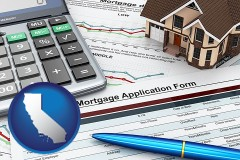 California mortgage application form