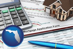 Florida - a mortgage application form