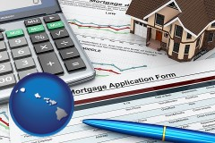 Hawaii - a mortgage application form