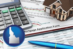 Idaho mortgage application form