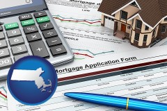 Massachusetts - a mortgage application form