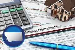 Montana - a mortgage application form