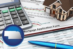 Nebraska - a mortgage application form