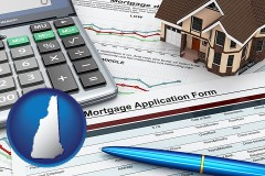 New Hampshire - a mortgage application form