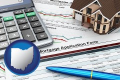 Ohio - a mortgage application form