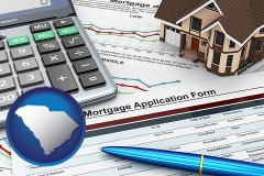 South Carolina - a mortgage application form