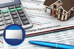 South Dakota - a mortgage application form