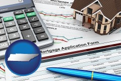 Tennessee - a mortgage application form