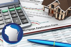 Wisconsin - a mortgage application form