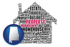 Alabama - property management concepts
