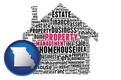 Missouri - property management concepts