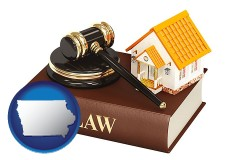 Iowa - a real estate attorney