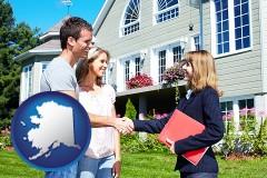 Alaska - a real estate agent