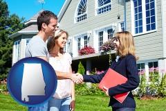 Alabama - a real estate agent