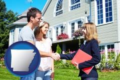 Arkansas - a real estate agent