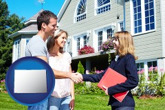 Colorado - a real estate agent