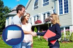Connecticut - a real estate agent