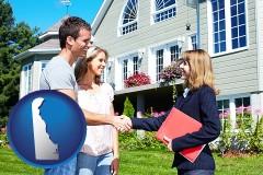 Delaware - a real estate agent