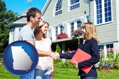 Georgia - a real estate agent