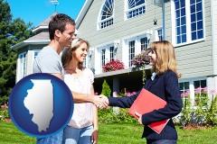 Illinois - a real estate agent