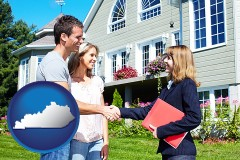 Kentucky - a real estate agent