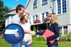 Massachusetts - a real estate agent