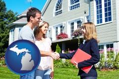 Michigan - a real estate agent