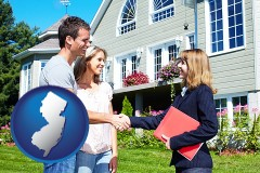 New Jersey - a real estate agent